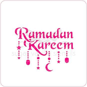 Ramadan Kareem Cupcake Stencil