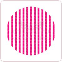 Stripes Cupcake Stencil
