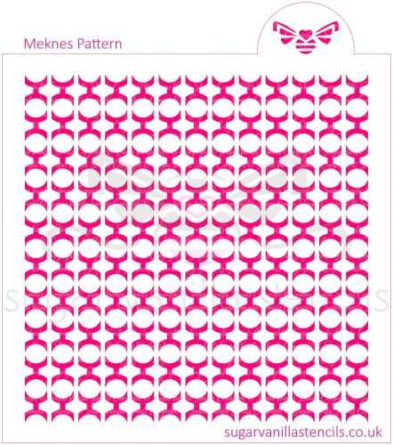 Meknes Cookie Stencil