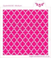 Quatrefoil #2 Cookie Stencil - Medium