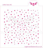 Little Stars #1 Cookie Stencil