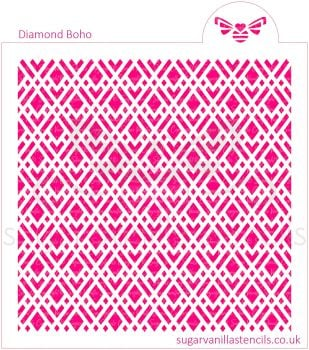 Diamond Boho Cookie Stencil