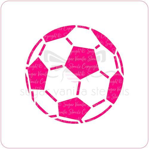 Football Cupcake Stencil