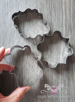 Plaque Cookie Cutters - Set of 3
