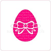 Easter Egg Cupcake Stencil