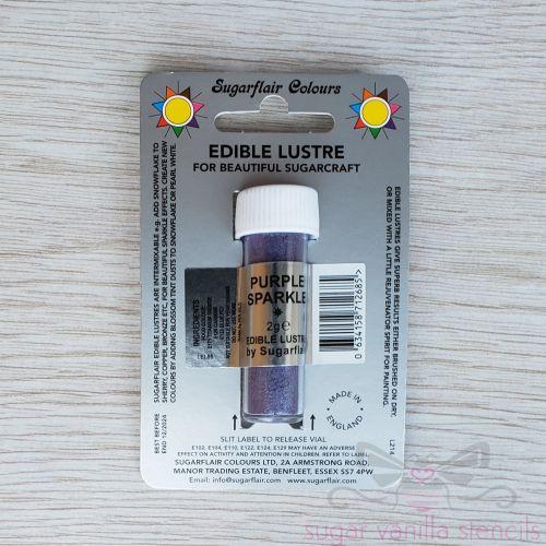 Purple Sparkle - Sugarflair Lustre Dust