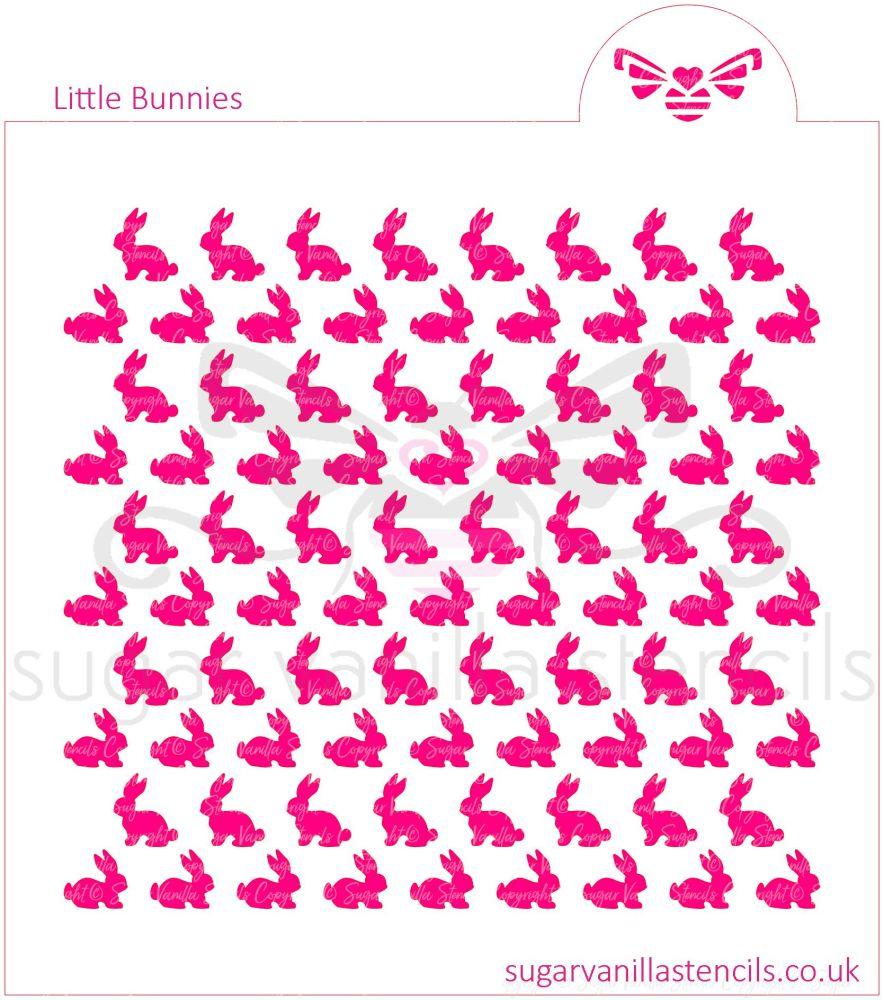 Little Bunnies Cookie Stencil