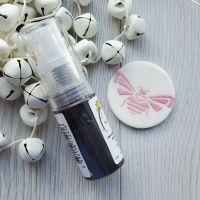 Powder Puff Glitter Dust - MIDNIGHT BLACK - Sugarflair