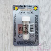 Edible Lustre Dust - CHRISTMAS WHITE - Sugarflair