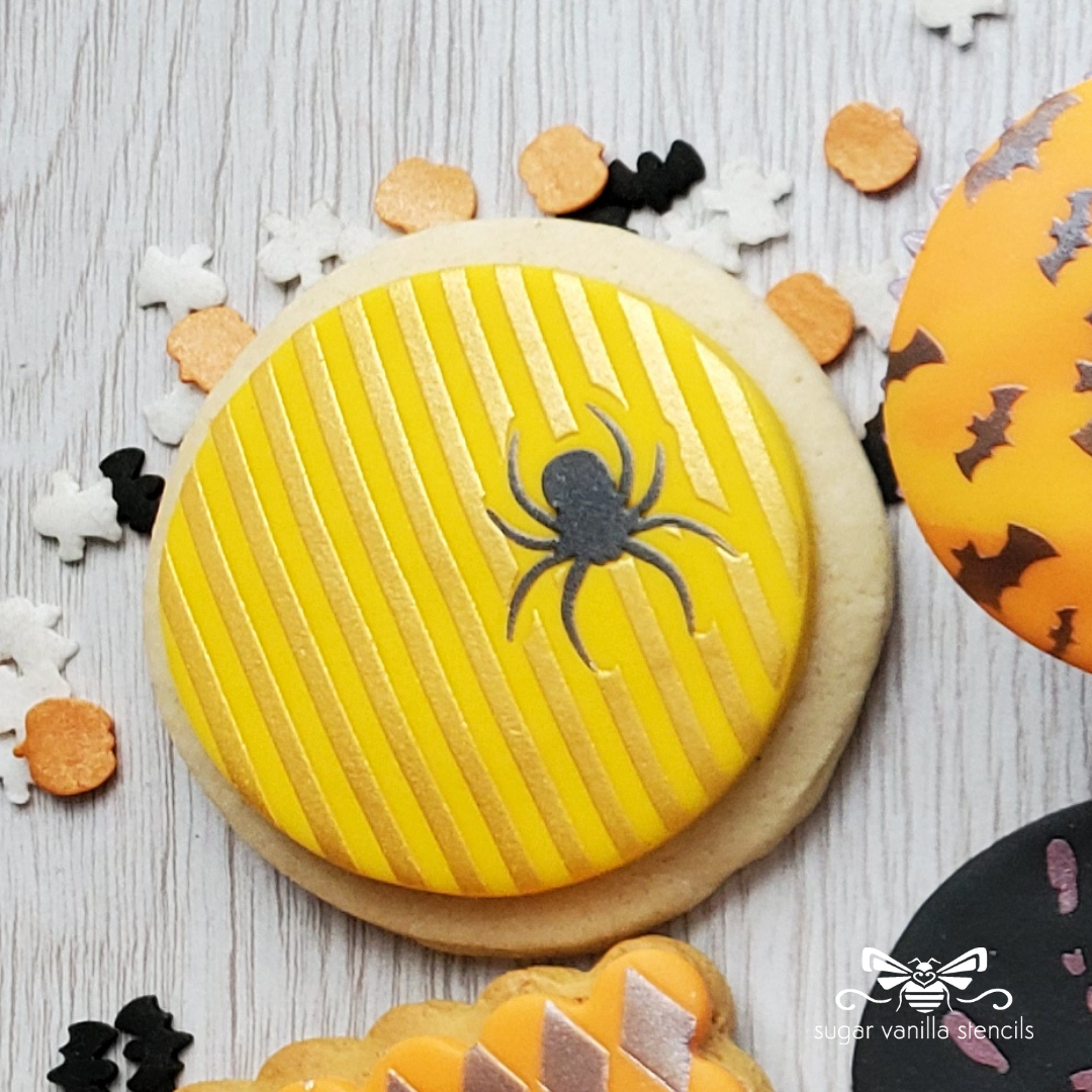 Spider Stripes Stencil Set (Double Stencil)
