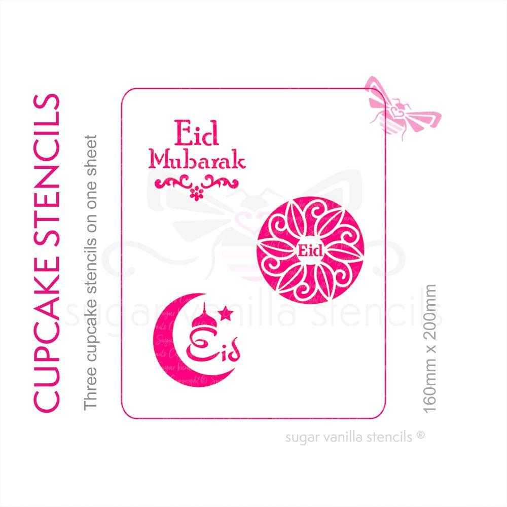 Cupcake Set - Eid Mubarak
