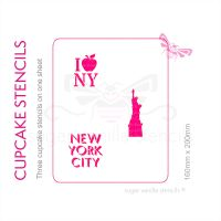 Cupcake Set - New York City
