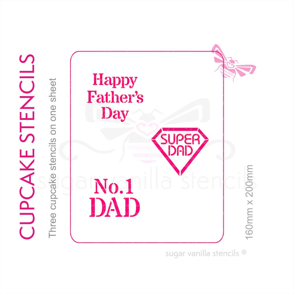 Cupcake Set - Fathers Day