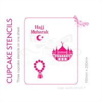 Cupcake Set - Hajj Mubarak
