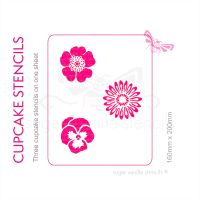 Cupcake Set - Flowers