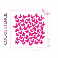 Flutterbys Cookie Stencil - Large