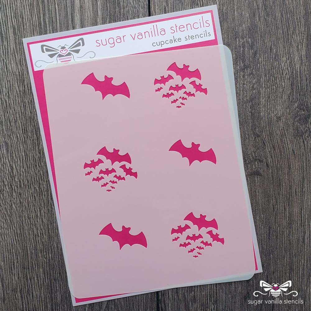 Cupcake Set - Bats