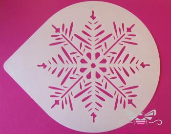Pine Snowflake Cake Top