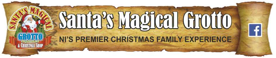 www.santasmagicalgrotto.com, site logo.