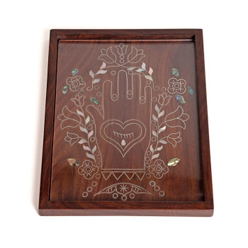 Hamsa Tray  [By Order Only]