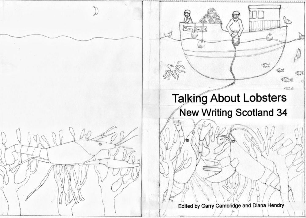 ASLS bookcover sketch mock up in pencil