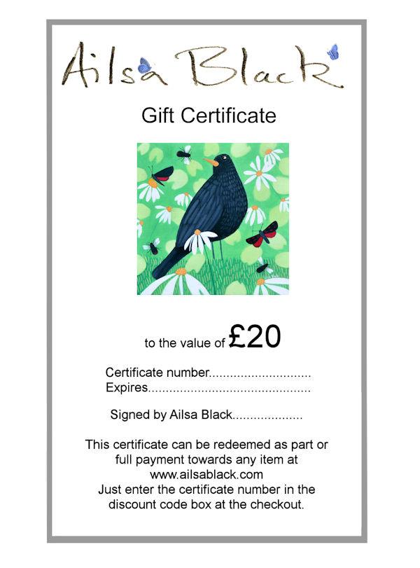 £20 gift art voucher