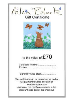 £70 Gift Voucher