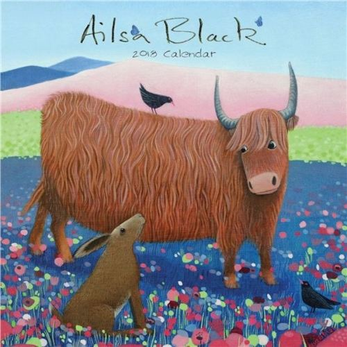 ailsa black 2018 calendar cover