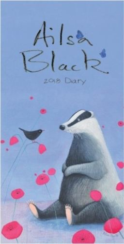 ailsa black 2018 diary front cover