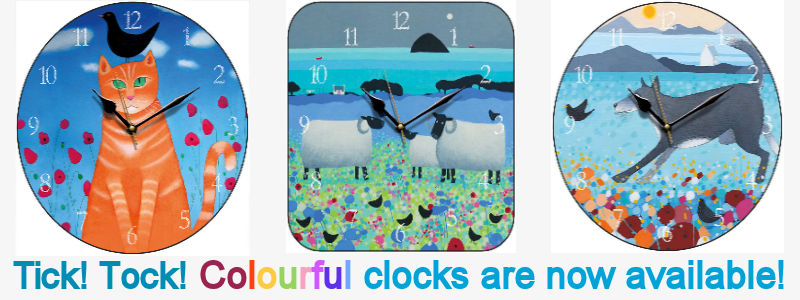 wwidget colourful clocks may 2018 2