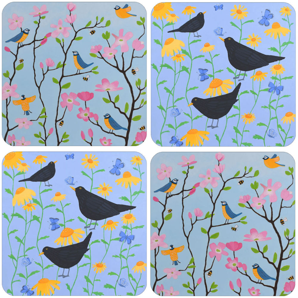 A Birds Placemat Set of 4