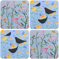 A Birds Set of 4 Mixed Placemats