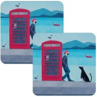 Biding Time Set of 2 Placemats