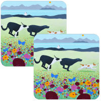 Bumble Bee Boys Set of 2 Dog Placemats