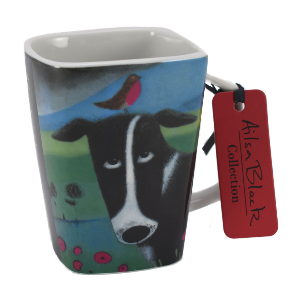 Border Collie Dog Porcelain Mug