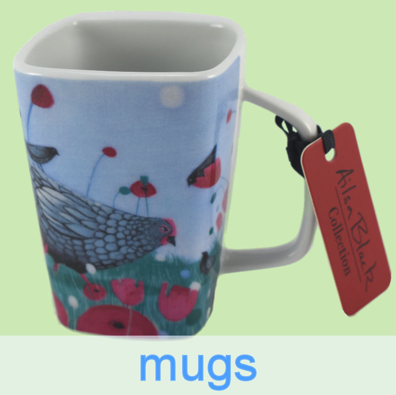 mugs for sale in shop