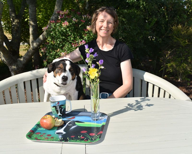 ailsa black and jack the dog
