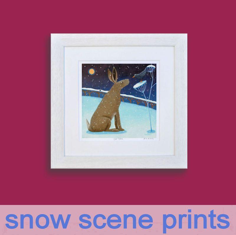 Snow Scene Prints