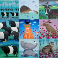 Mixed pack of 9 Animal Cards
