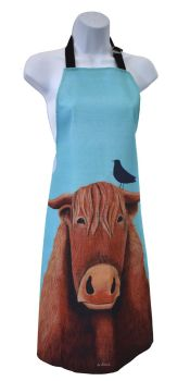 """Broon Coo"" Cotton Apron"