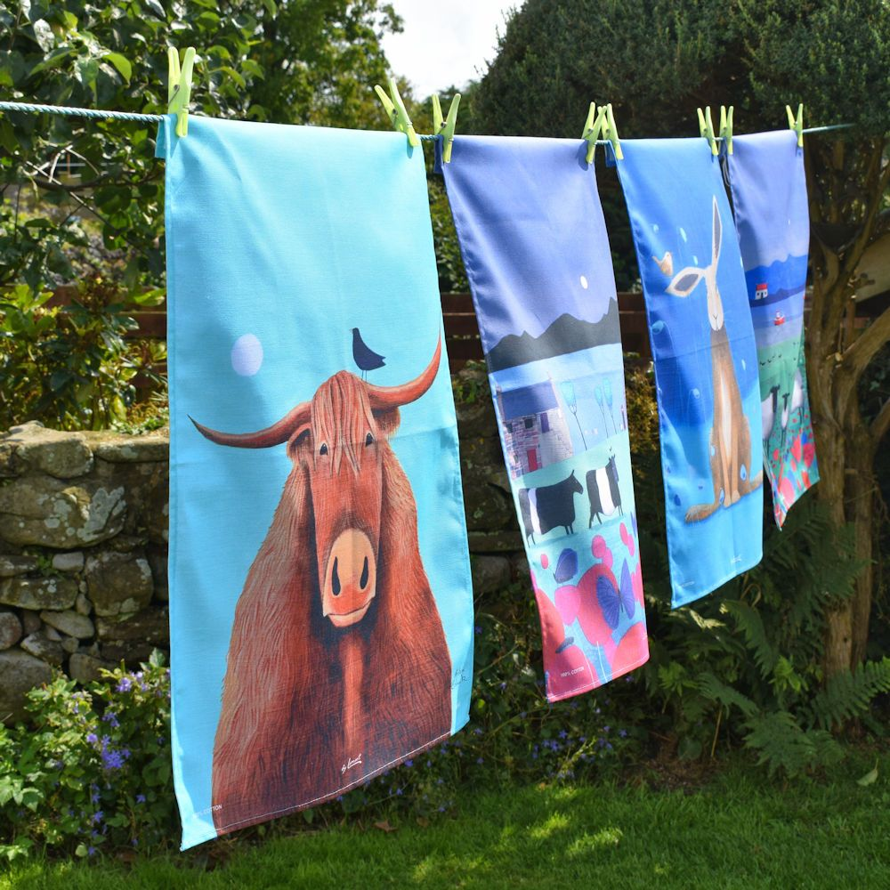 teatowels on the line square