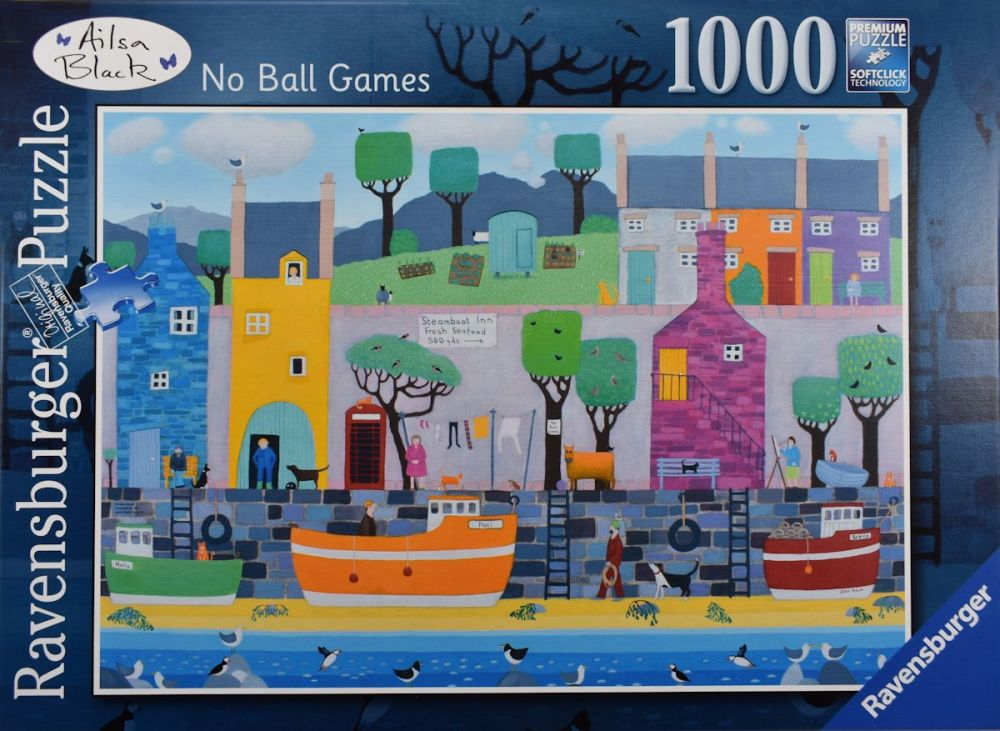 No Ball Games Ailsa Black Jigsaw Puzzle