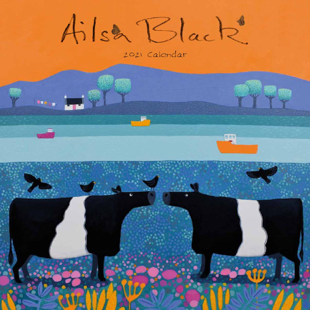 Ailsa Black-Wall Calendar