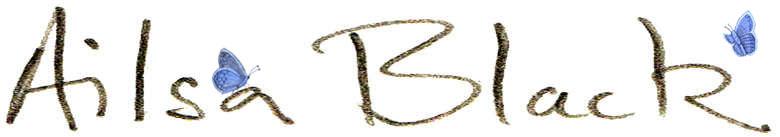 Ailsa Black, site logo.