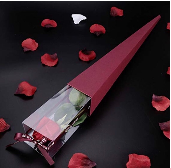 Luxury Red Rose in a gift Box