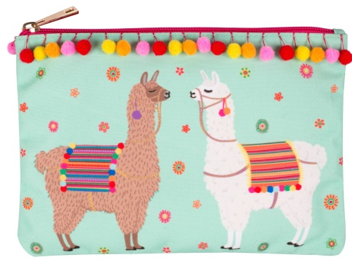 Llama make up Purse