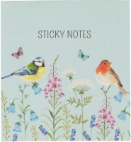 Woodland bird sticky notes