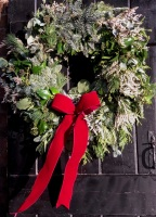Luxury Handmade Large Christmas Wreath