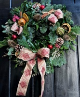 Luxury Handmade Medium Christmas Wreath