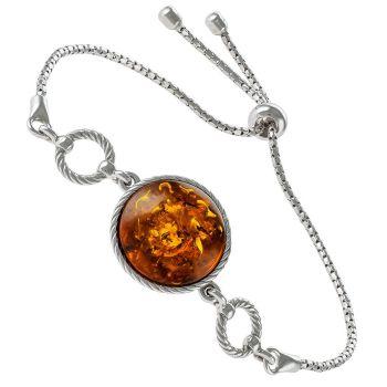 Silver Adjustable Bracelet